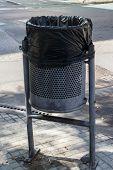 stock photo of dust-bin  - street Dust - JPG