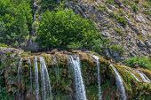 Waterfall Krcic in Knin