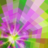 picture of quadrangles  - Abstract quadrangle colorful shining vector background EPS10 - JPG