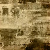 art abstract monochrome acrylic and pencil background in beige, black and grey colors