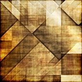 art abstract colorful geometric pattern; tiled background in brown, white and beige colors
