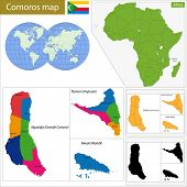 Administrative division of the Union of the Comoros