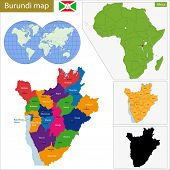 Administrative division of the Republic of Burundi