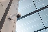 pic of cctv  - Security wall ceiling cctv camera indoor guard - JPG
