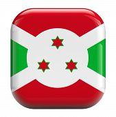 Burundi Flag Icon Image
