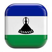 Lesotho Flag Icon Image