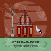 Poland infographics, statistical data, sights