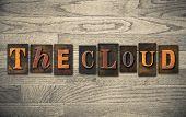 The Cloud Wooden Letterpress Concept