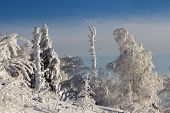 stock photo of ural mountains  - Winter snow - JPG