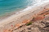 Falesia Beach Seen From The Cliff