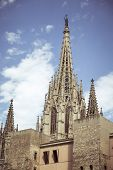 Cathedral Of The Holy Cross , Barcelona