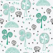 Seamless pattern for St. Patrick's day