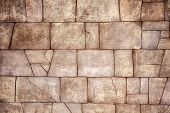 Brown Brick-wall Background