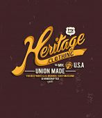 vintage typography for apparel 5