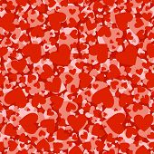 love hearts pattern