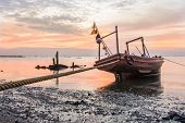 Thai Fishing Boat For Finding Fish