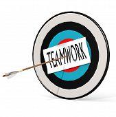 Arrow, Teamwork And Board