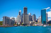 picture of suny  - Beautiful landscape of Sydney city in suny day - JPG