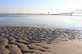 wavy sand