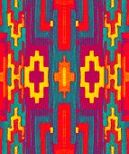 eastern Geometric Pattern On The Fabric