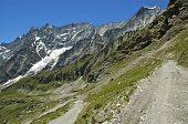 Mountain Path In Aosta Valley
