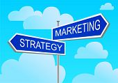 index against the blue sky marketing, strategy