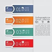 Abstract infographic. Vector illustration Eps8.
