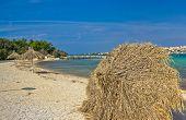 Beach Of Novalja, Pag Island