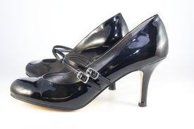 pic of mary jane  - A pair of patent leather woman - JPG