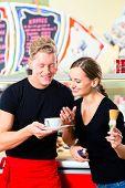 pic of ice cream parlor  - Ice - JPG