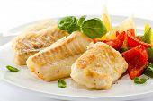 stock photo of fish  - Fish dish  - JPG