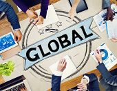 image of globalization  - Global Globalization Community Communication Concept - JPG