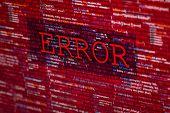 Постер, плакат: Error