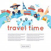image of holiday symbols  - World Travel - JPG