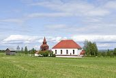 picture of cemetery  - Ovikens Church - JPG