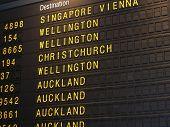 Departure Board poster