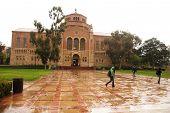 Rainy Day At University poster