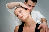 Chiropractic Neck Adjustment poster
