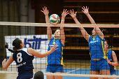 Kaposvar Ujbuda Volleyball-Spiel