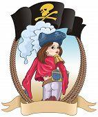 Girl-pirate
