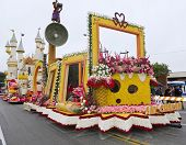 The City Of Glendale Rose Parade Float