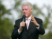 NEW YORK - JUNE 25: Former US President Bill Clinton speaks at the Greater New York Billy Graham Cru