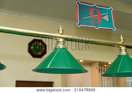Two lamps over