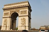 picture of charles de gaulle  - Arc de Triomphe in the Place Charles de Gaulle - JPG