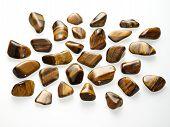 Small tumbled stones