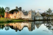 Ruins of the castle in Adare, Co. Limerick - Ireland