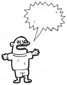village idiot cartoon