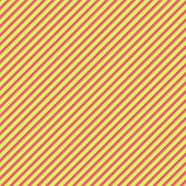 Hot Pink & Light Lime Diagonal Stripe Paper