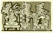 Woodblock Maya A