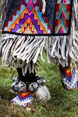 Native american dancers at a Powwow